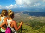 Kait and Ellen Concepion Volcano