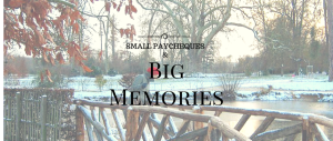 Small Paycheques