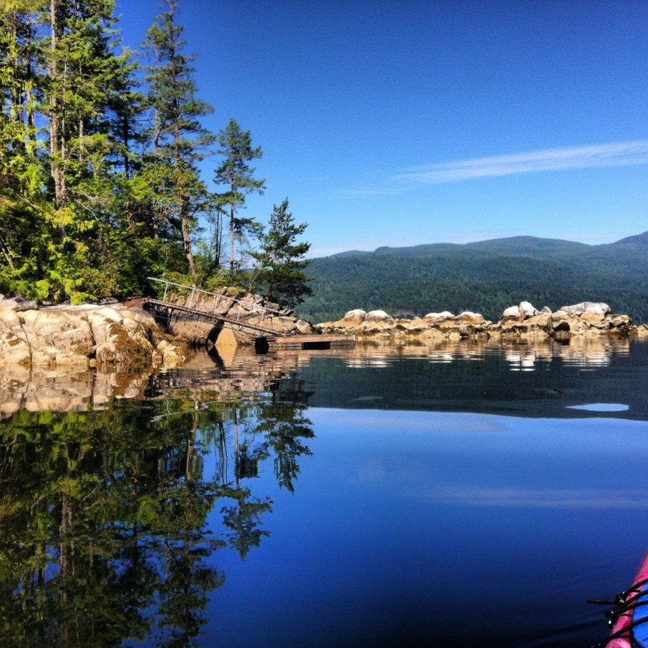 Sechelt Inlet, British Columbia