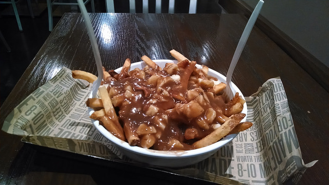 Poutine Photo via Flickr by tales of a wandering youkai