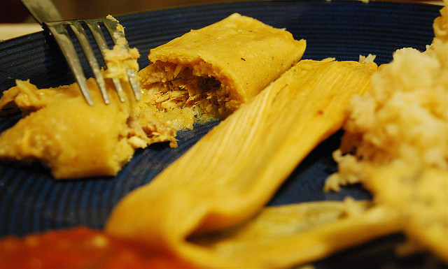 Tamales Photo via Flickr by Valerie Hinojosa
