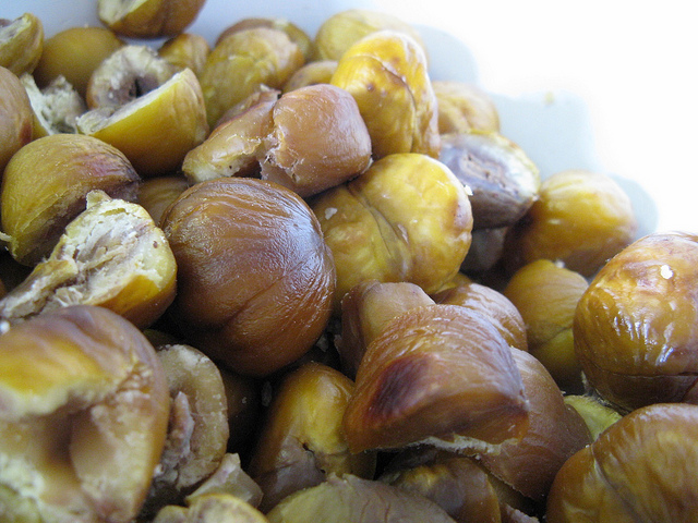 Roasted Chestnuts Photo via Flickr - SaraJane