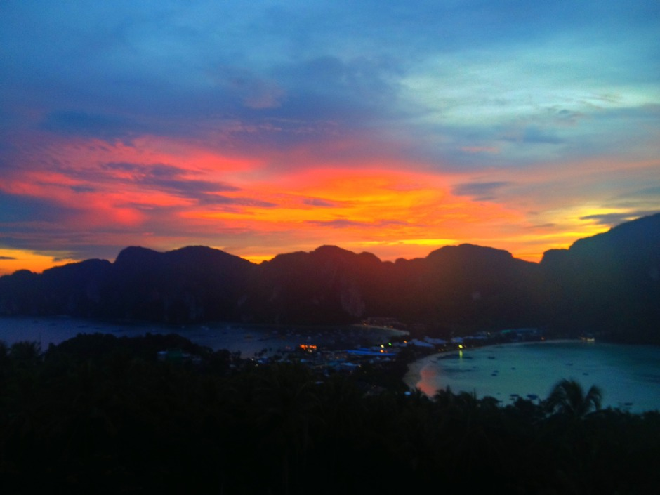 Phi Phi Sunset Photo by Chloe S.