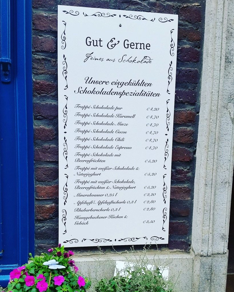 Gut & Gerne Chocolate Shop in Dusseldorf