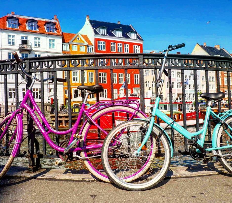 Colourful Cruisers in Copenhagen